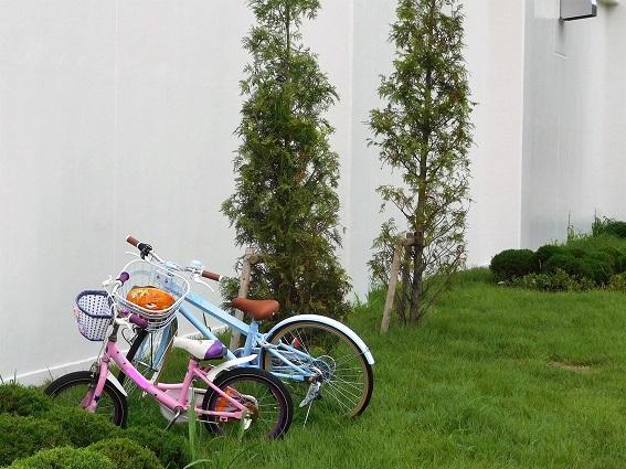 二台の自転車